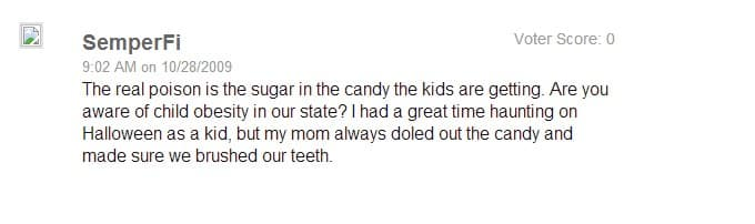too much sugar patch.com