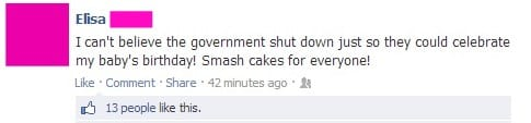 STFU Parents: How Not To Talk About The Government Shutdown On Facebook