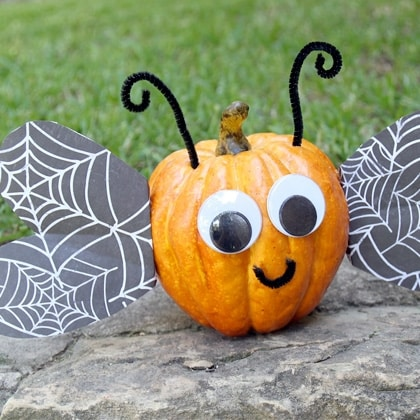 10 No Carve Pumpkins For Little Kids Because They Shouldn