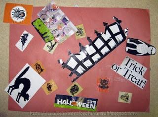 halloween collage craft