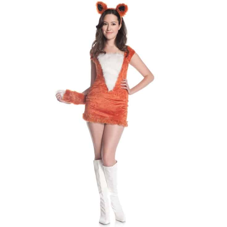 redfoxteen  sc 1 st  Mommyish & 10 Degrees Of Discomfort With Sexualizing Teen Girl Halloween Costumes