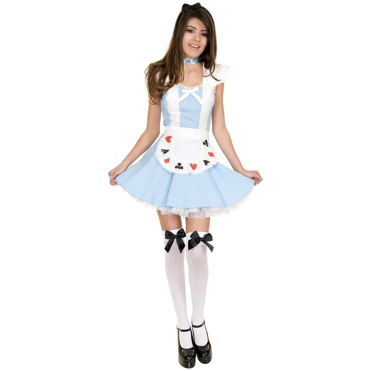 teen alice in wonderland costume - Skimpy Halloween Outfits
