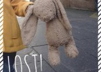 Mr.Rabbit Has Been Lost In London And We All Must Bring Him Home Safe To This Little Girl