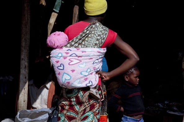 Daily life in a South African township