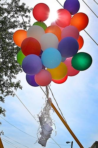 holiday prayer balloon