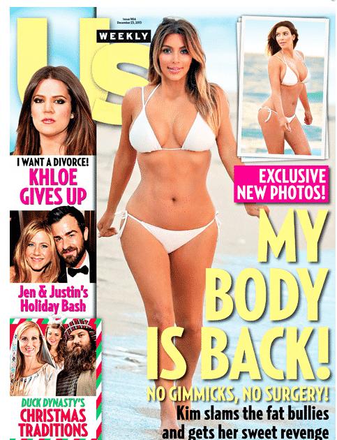Kim Kardashian Post Baby Body