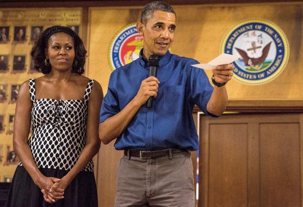 Obama anniversary present