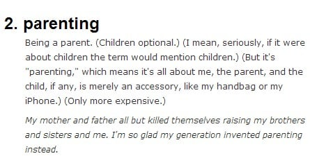 Parenting Related Urban Dictionary (5)