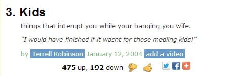 Parenting Related Urban Dictionary (6)