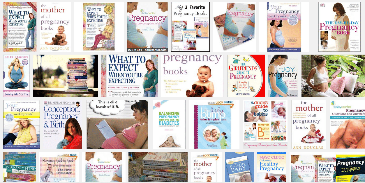 pregnancy-books-white-women