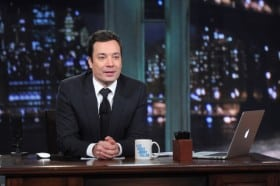 "Andy Samberg Visits ""Late Night With Jimmy Fallon"""