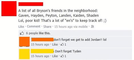 8. neighborhood kids