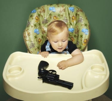 When It Comes To Guns In The Home, Parents Put Way Too Much Faith In Their Kids