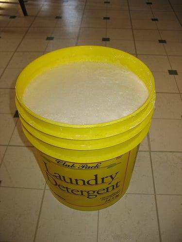making laundry soap liquid