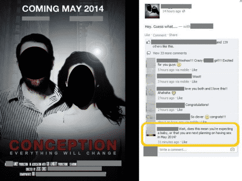 STFU Parents: The Various Ways To Announce You're Pregnant On Facebook, Part II
