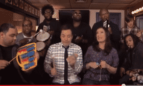 Idina Menzel Performs With The Roots Jimmy Fallon