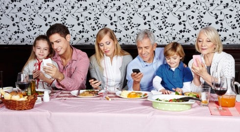 If You Whip Out Your Cell Phone During Dinner I Will Stab You With My Fork