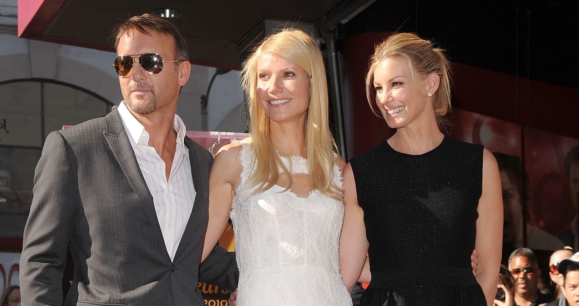 Gwyneth paltrow chris martin divorce faith hill island for Do tim mcgraw and faith hill have kids