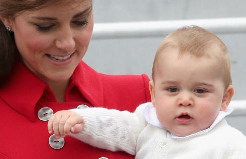 Prince George Looks Tired As He Reveals His Post-Birth Body In New Zealand