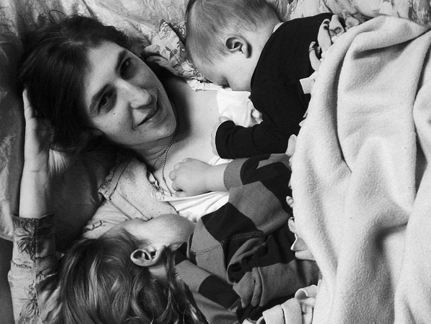 Image result for mayim bialik and kids