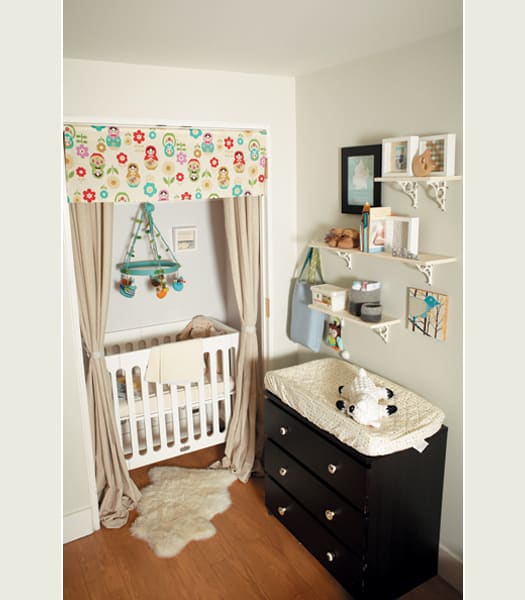 15 nursery hacks for teeny tiny spaces mommyish