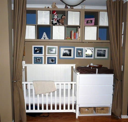 Cute Baby Nursery Themes Ideas With Spectacular Paint Interiors White Shelf