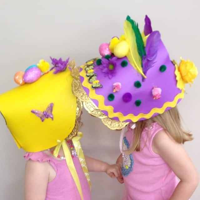 easter bonnets templates - 18 easter bonnets for the child you hate