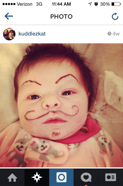 baby eyebrows 1