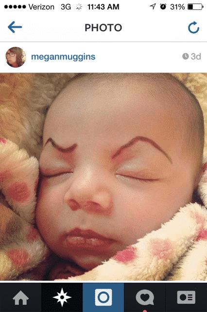 baby eyebrows 13