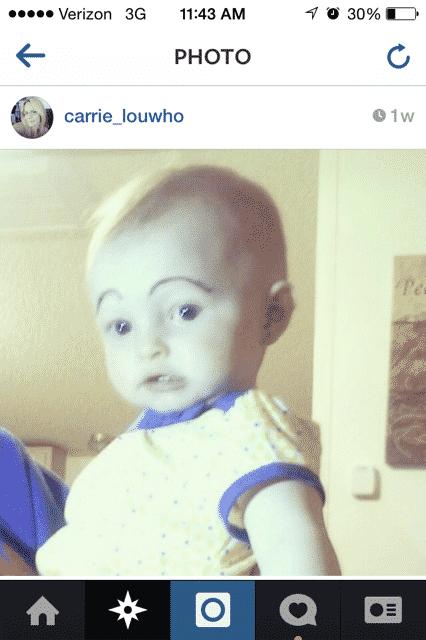 baby eyebrows 8