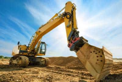 bulldozer closeup