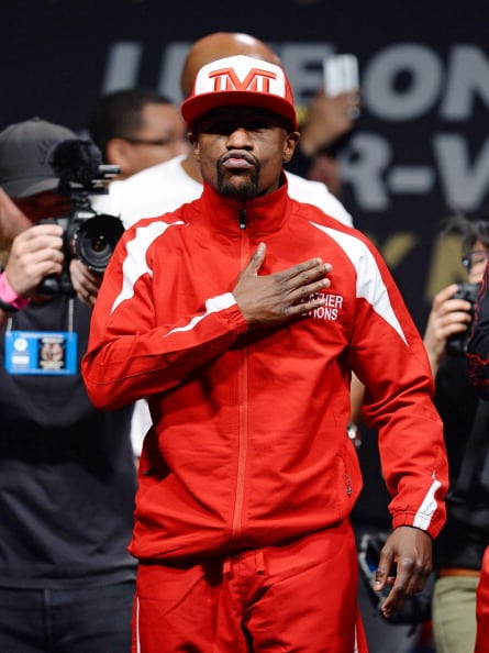 Floyd Mayweather Jr. v Marcos Maidana - Weigh-In