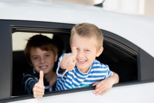 Kids left in cars