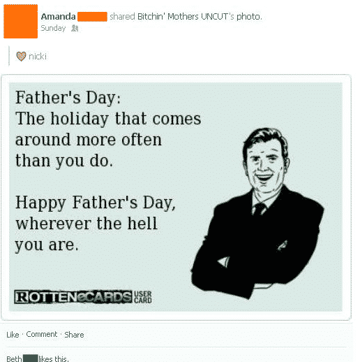 2. Fathers Day stfu parents fathers day on facebook and gold star dads