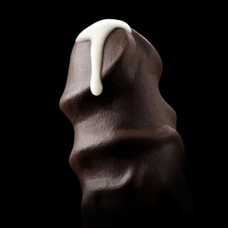 8 inch chocolate penis treat
