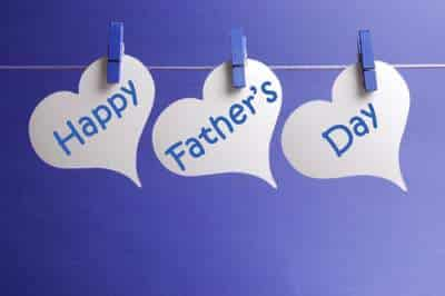 Fathers Day craft hearts with laundry clips