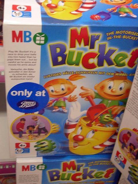 MR Bucket toy sex toy
