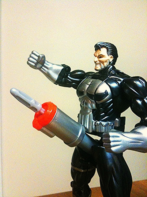 Punisher shape shifter sex toy