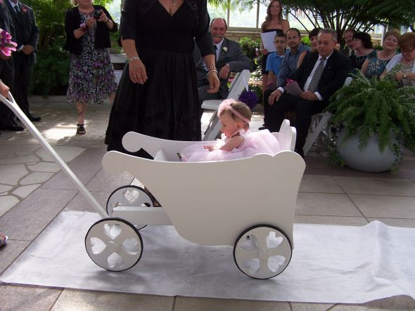 10 Ridiculous Ways To Carry A Baby In A Wedding