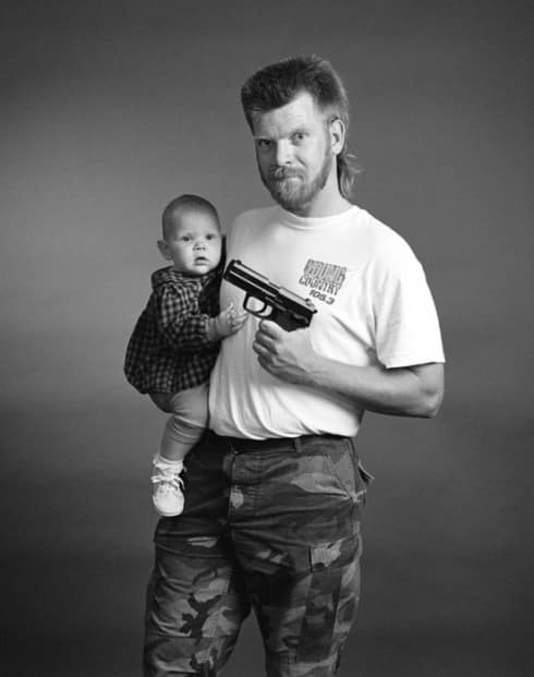 10 Babies Holding Guns Who Are More Patriotic Than You