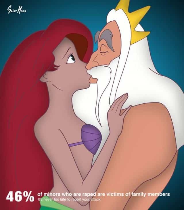 princest incest awareness poster