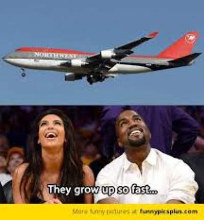 Kim Kardashian North West meme