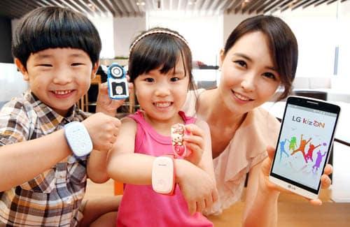LG Kizon Tracking Device