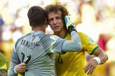 david luiz crying after game loss