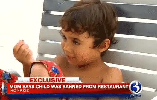 doughnut inn 4 year old banned