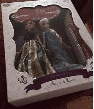 limited edition frozen dolls
