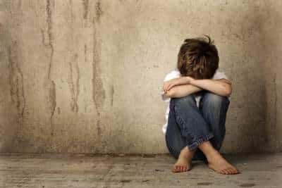 upset child stop child abuse