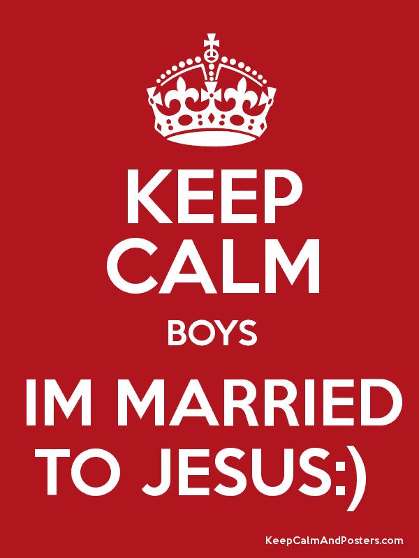 married to Jesus meme