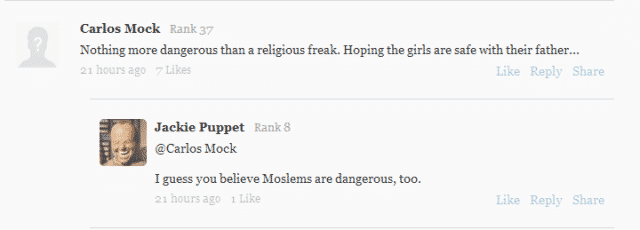 religious freedom comment 3