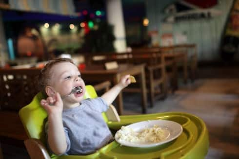 I�m Taking My Toddler To A Restaurant Even If He Gets On Your Nerves